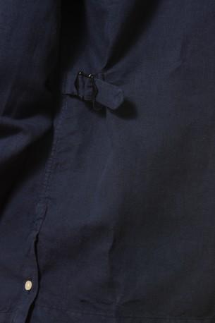 Camisa cubana azul