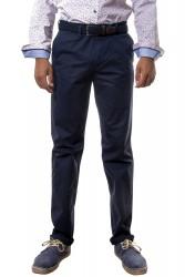 Pantalón algodón clásico azul marino