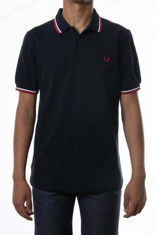Polo FRED PERRY azul marino