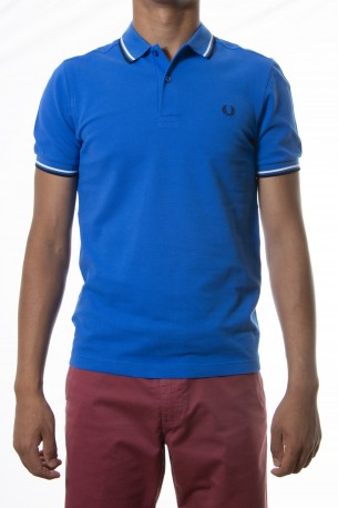 Polo FRED PERRY azul medio