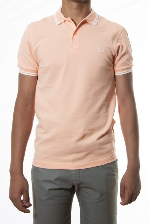Polo FRED PERRY naranja