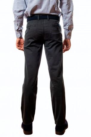 Pantalón algodón verde oscuro