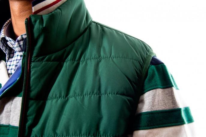 Chaleco nylon verde