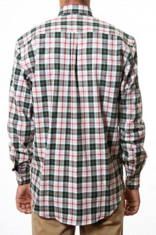 Camisa cuadros grandes verdes
