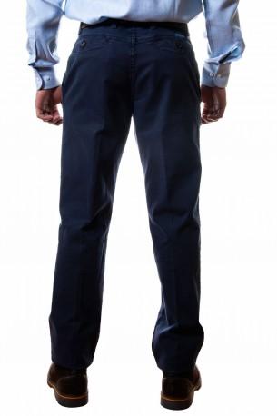 Pantalón dibujo pequeño azul