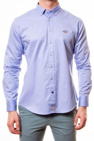 Camisa Spagnolo lisa azul claro