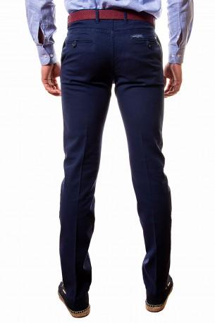 Pantalón azul dibujo pequeño