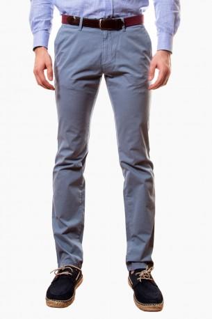 Pantalón algodón azul claro