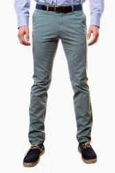 Pantalón algodón verde claro
