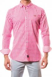 Camisa Spagnolo cuadro rosa