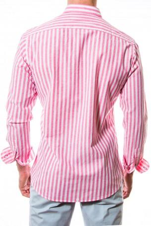 Camisa Spagnolo rayas rosas