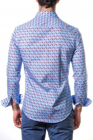 Camisa estampada vespas
