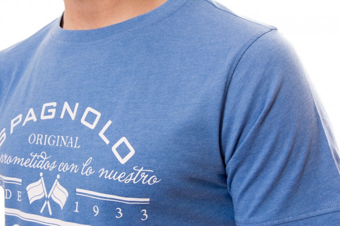 Camiseta azul Spagnolo