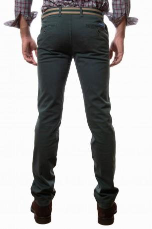 Pantalón algodón verde