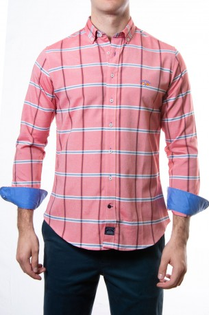 Camisa Spagnolo cuadros grandes