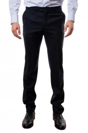 Pantalón lana azul marino