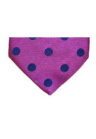 Corbata de lunares