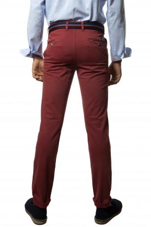 Pantalón algodón rojo