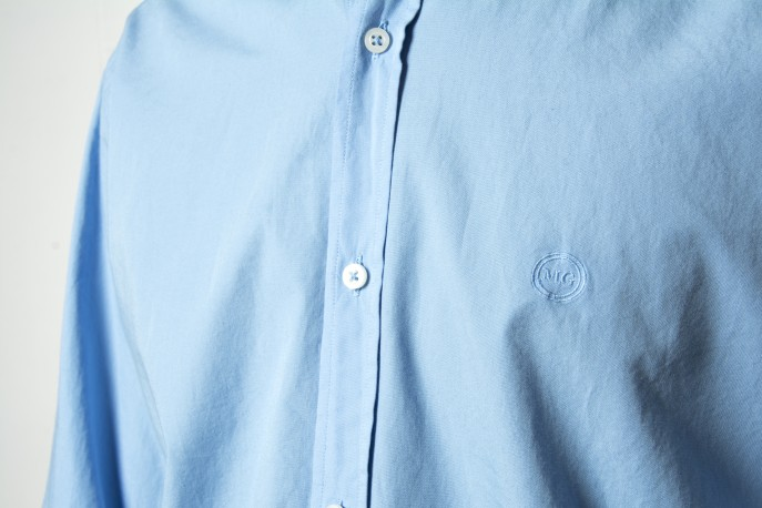 Camisa Mario Gretto lisa celeste