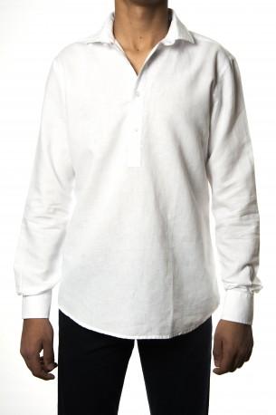 Camisa polera Mario Gretto blanca