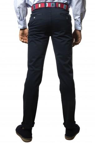 Pantalón algodón marino